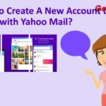 how to create a new yahoo account