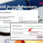 recover forgotten facebook password