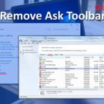 remove ask toolbar from browsers