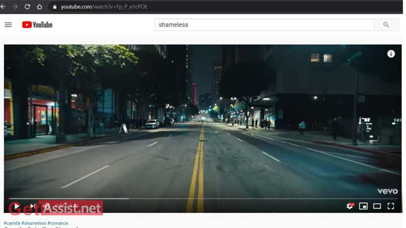 Search Video, that you want download