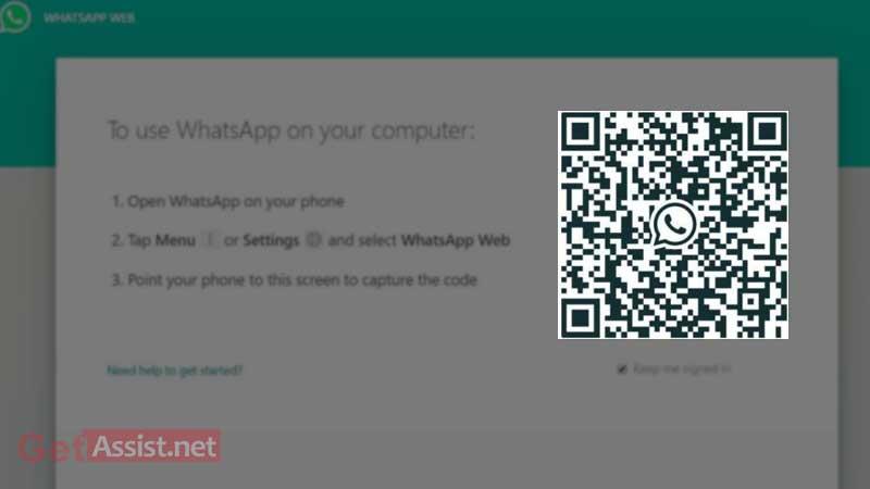Scan QR code on phone