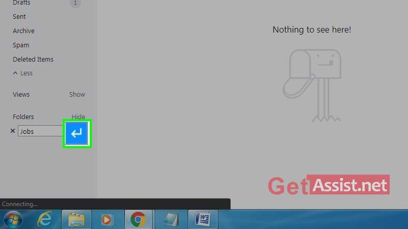Add Folder name