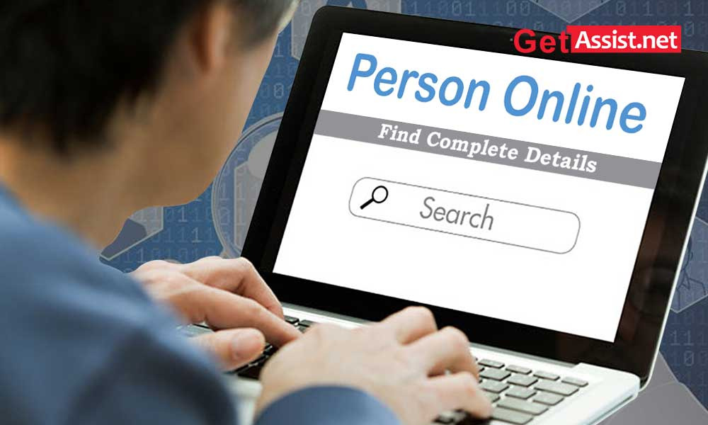 how to check a person details online