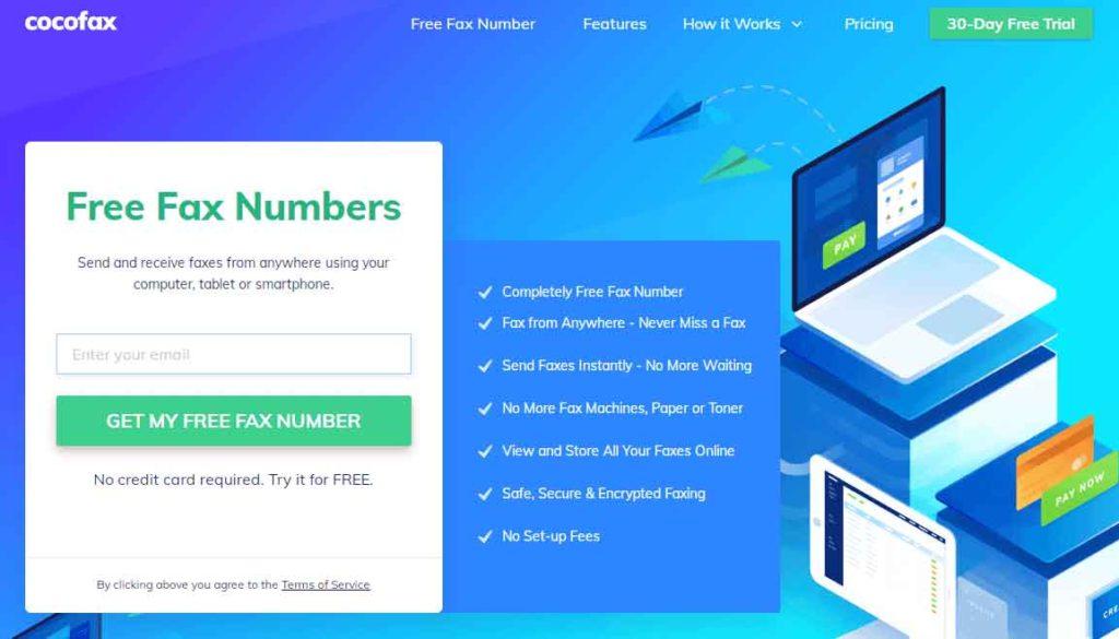 Fax Number Online