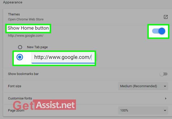 enter google.com