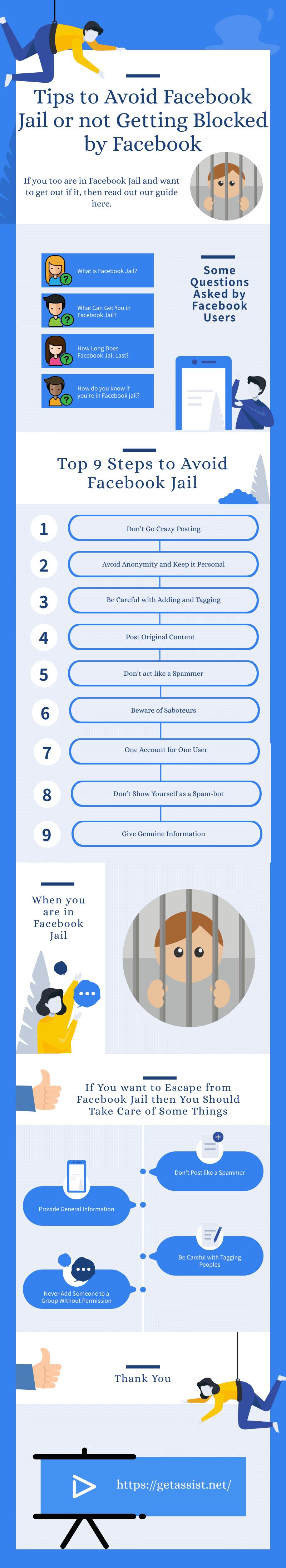 Tips to Avoid Facebook Jail