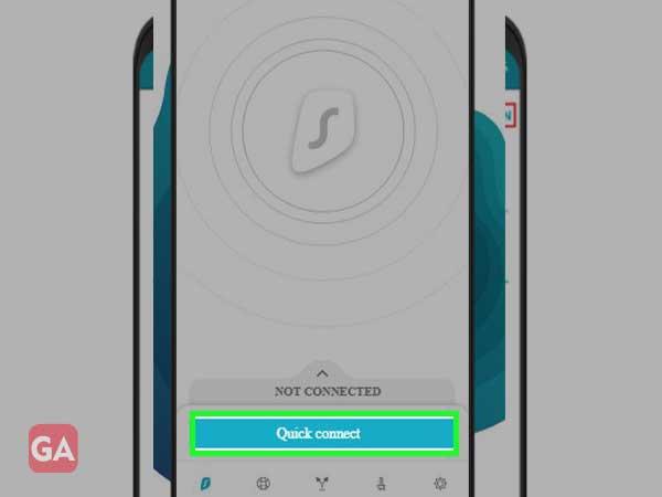 Connect to surfshark VPN