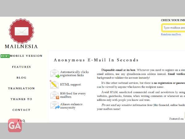 Mailnesia