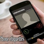Rules of Phone Etiquettes