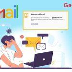 Gmail address not found error