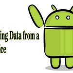 Recovering Data from a Device