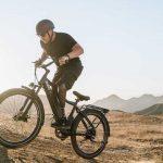 Descending on Hills with Bike