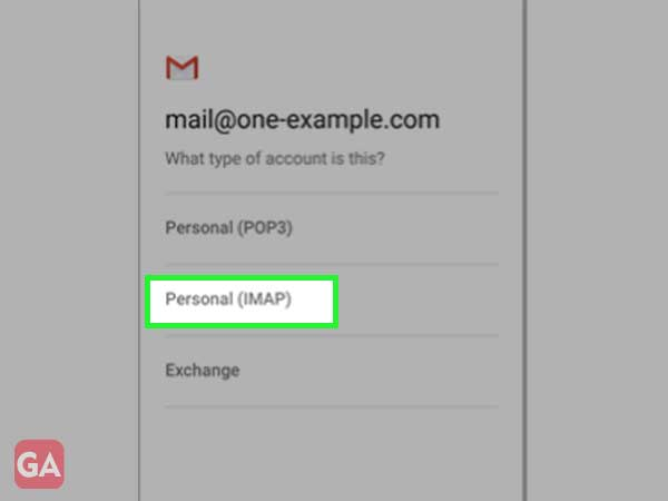 Personal IMAP